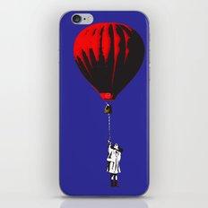 RED BALLOON iPhone & iPod Skin