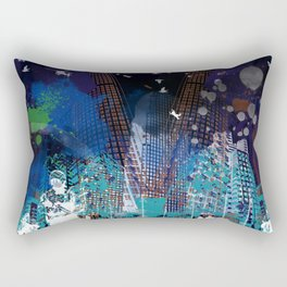A tale of two cities 2 Rectangular Pillow