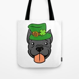 Leprechaun Pitbull - St. Patricks Day Tote Bag