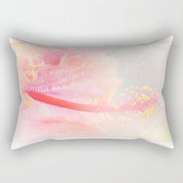 Pouring Light Rectangular Pillow