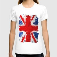 british T-shirts featuring BRITISH FLAG by Sophie