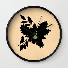 New Hampshire - State Papercut Print Wall Clock