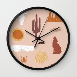 Death Valley Days 1 Wall Clock