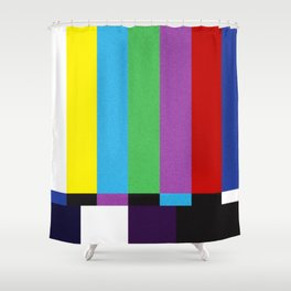 tv color bar Shower Curtain