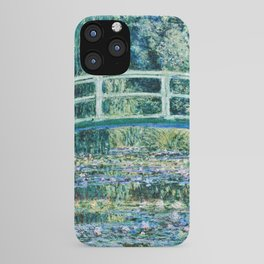 Claude Monet - Water Lilies And Japanese Bridge iPhone Case