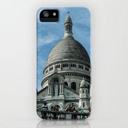 Basilique du Sacre-Coeur (Montmartre) iPhone Case