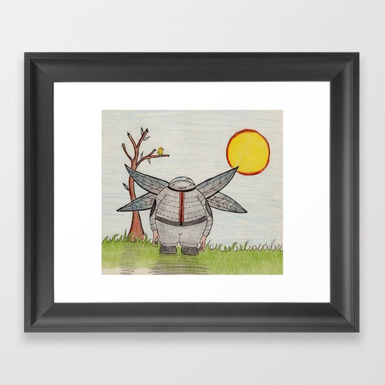 Cutey Framed Art Print