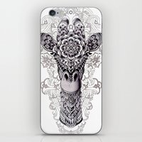 bioworkz iPhone & iPod Skins featuring Giraffe by BIOWORKZ