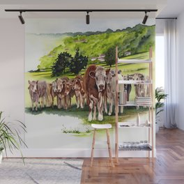 Herd It Throught the Grapevine Wall Mural