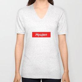 Hyujen Logo Unisex V-Neck
