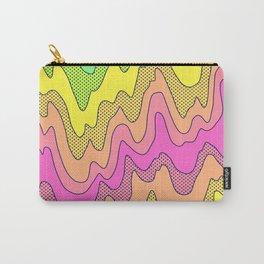 Ooo Ahh Melty Neon Rainbow Carry-All Pouch