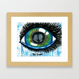 She will be loved. Framed Art Print