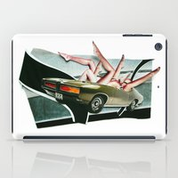 muscle iPad Cases featuring Muscle Magnet | Collage by Lucid House