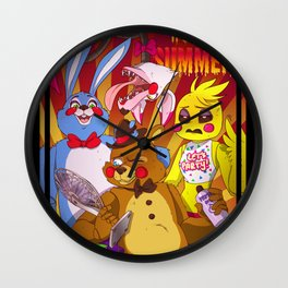 FNAF Summer (Toys version) Wall Clock