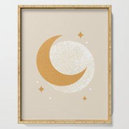 Moon Sparkle - Celestial Serving Tray