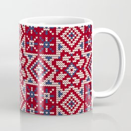 Pattern in Grandma Style #34 Coffee Mug