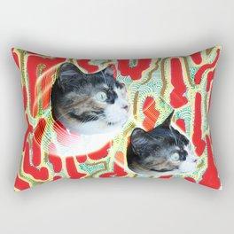 Cuca the Cat Rectangular Pillow