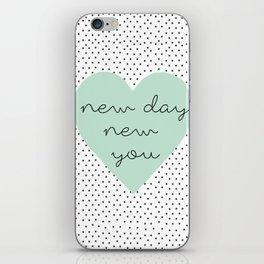 new you iPhone Skin