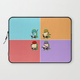 Turtles in Disguise Laptop Sleeve