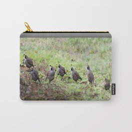 Sunday Afternoon Quail  Carry-All Pouch