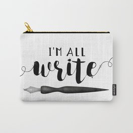 I'm All Write Carry-All Pouch