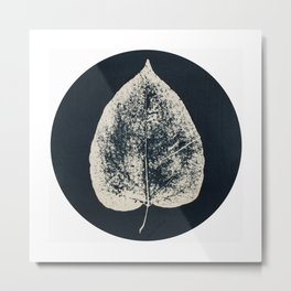 HERBARIUM. FORGOTTEN LEAVES. #12 Metal Print