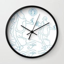 Mythological folklore art Wall Clock