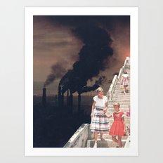 Time To Say Goodbye Art Print