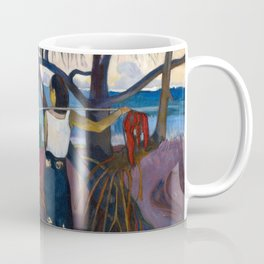 Under the Pandanus II by Paul Gauguin Coffee Mug