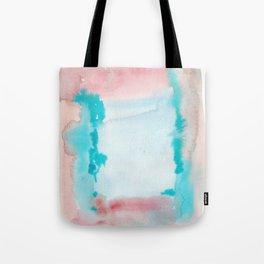 180815 Watercolor Rothko Inspired 9| Colorful Abstract | Modern Watercolor Art Tote Bag