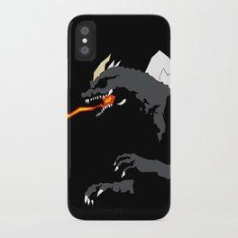 Godzilla vs. SpaceGodzilla iPhone Case
