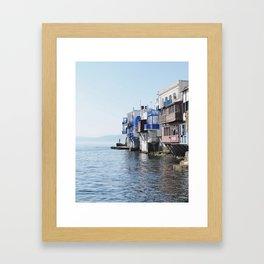 Little Venice - Mykonos Framed Art Print