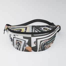 LOVE - Magazine Collage Fanny Pack