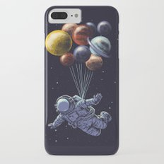 Space travel iPhone 7 Plus Slim Case