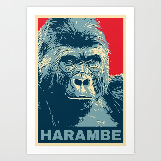 Harambe by teeign