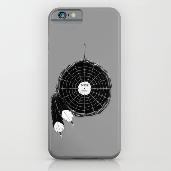 Music Catcher iPhone & iPod Case