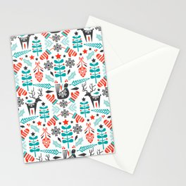 Hygge Holiday Stationery Cards