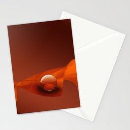 Orange Ball Stationery Cards