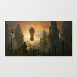 Return to the sky pirates cove Canvas Print