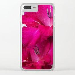 Vibrant Petals Clear iPhone Case