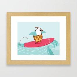 """Venus"" [surfer] Framed Art Print"