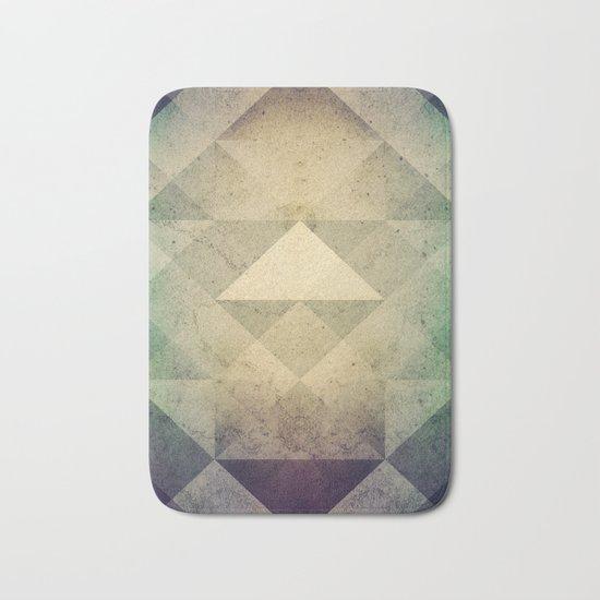 Triangles XXVII Bath Mat