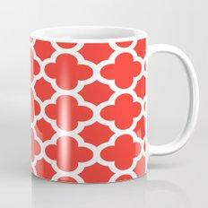 Poppy Quatrefoil Mug