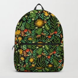 Sunshine Botanical - Dark Version Backpack