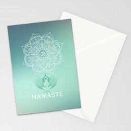 Namaste 2 Stationery Cards