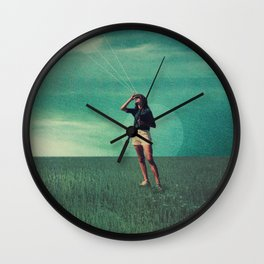 Loved the way You once looked upon Tomorrow Wall Clock