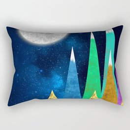 Great Moonlight Rectangular Pillow