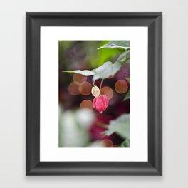 Festive Flowers Framed Art Print