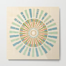 Spin the Wheel Metal Print
