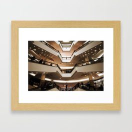 Malaysian Shopping Mall Framed Art Print